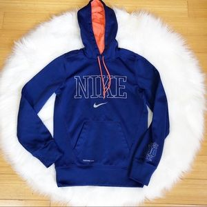 Nike Neon Pop Hooded Sweatshirt XS